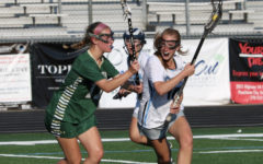 Senior Caroline Broderick fends off a Wesleyan defender. The Lady Panthers advanced to the Final Four of the state tournament where they'll play Westminster. The Wildcats eliminated Starr's Mill in the Final Four two years ago, but the Lady Panthers are seeking revenge.