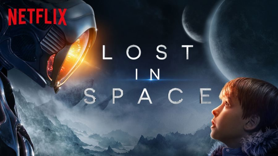 Space+explorer+and+the+youngest+Robinson%2C+Will%2C+stares+at+an+alien+robot+whom+he+befriends+by+saving+his+life.+The+robot+is+one+of+many+changes+made+for+Netflix%E2%80%99s+new+reboot+of+%E2%80%98Lost+in+Space%E2%80%99+that+might+not+be+for+the+better.