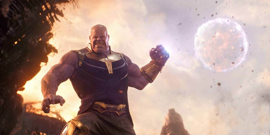 Thanos, during a battle against the Avengers, uses the Infinity Gauntlet to throw an entire moon. Epic feats like this are possible with the power of the infinity stones, which make Thanos the most powerful being in the universe in the most impressive superhero movie ever.