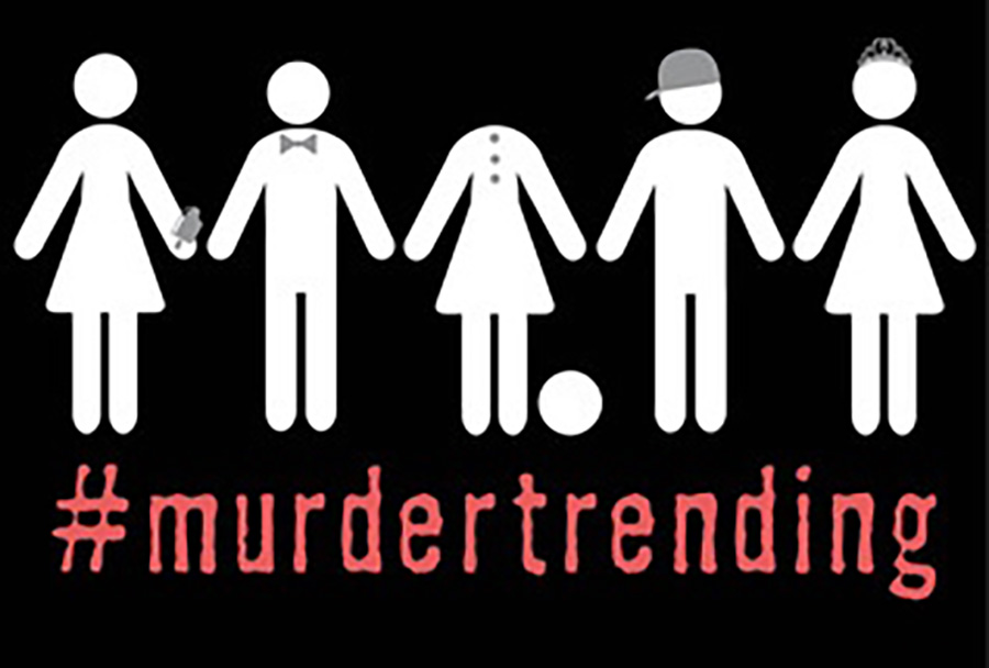#Murdertrending tells the story of teenager Dee Gurerra and her televised fight for survival after being accused of murder. Written by Gretchen McNeil, this novel raises some serious questions about our own society.