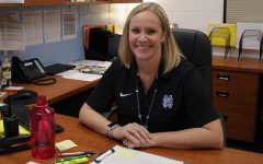 Brandi Meeks, the new assistant principal at Starr's Mill, has returned. After teaching Spanish for 21 years, Meeks has stepped up to take an administrative position.