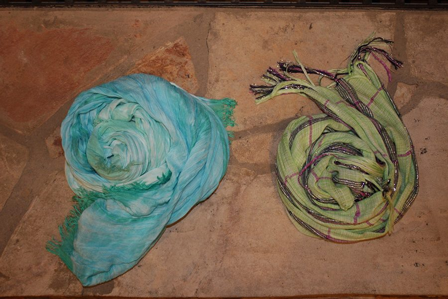 These two scarves represent both sides of this national dispute. The people that wore the green colored scarf pushed for safe, legal and free abortion, while the people that wore the blue scarf wanted unsafe, clandestine and deadly abortions to continue.