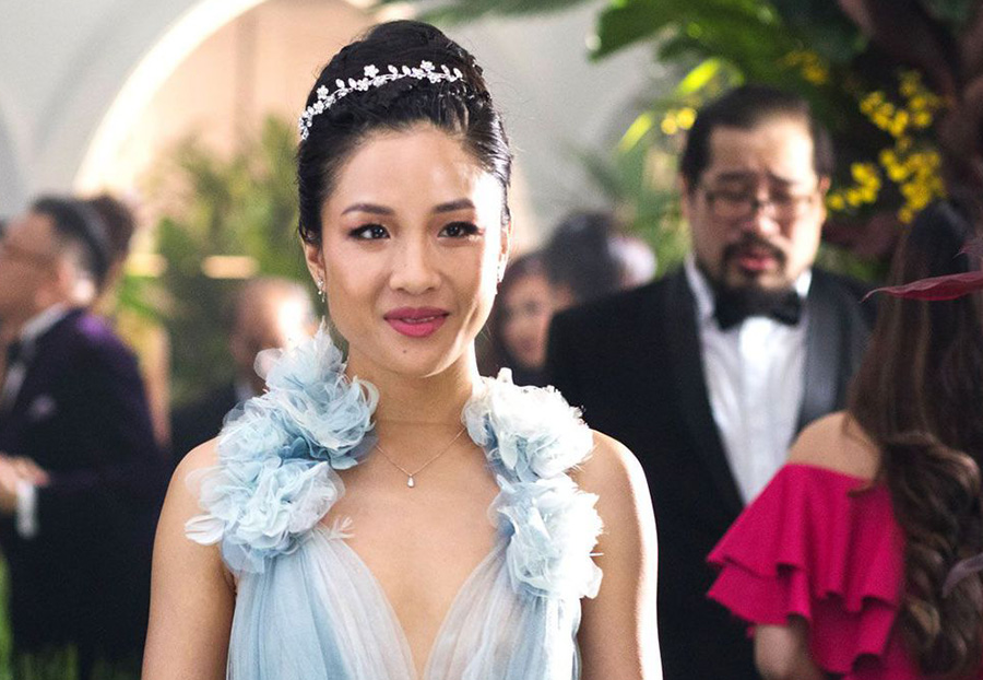 """Rachel Chu confidentially walks over to confront Eleanor Young, her boyfriend's mother. """"Crazy Rich Asians"""" shows the audience how to let go of outdated traditions and be more accepting to change."""