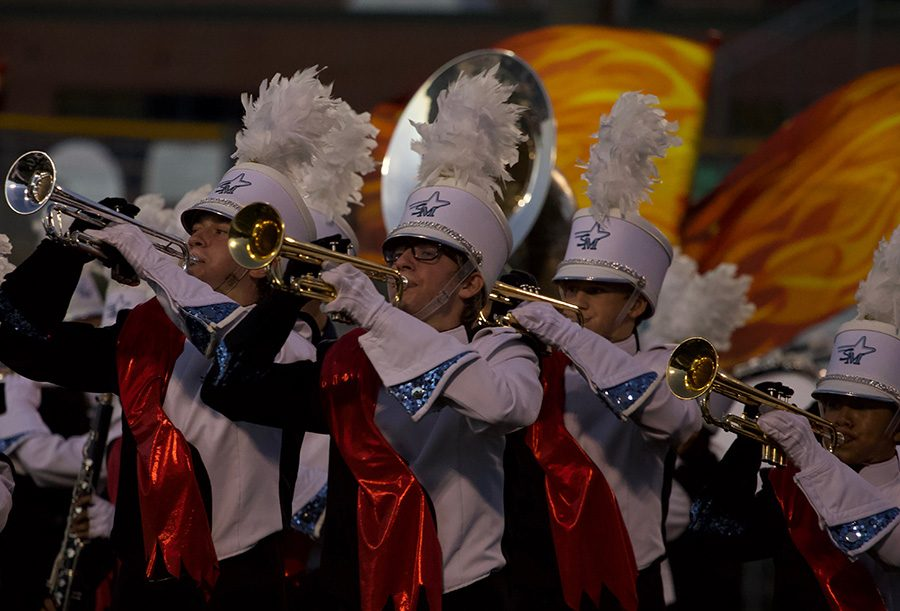 The+Marching+Band+competition+season+has+started+with+the+Fayette+County+Exhibition+that+took+place+last+Tuesday.+The+Exhibition+showcased+what+all+five+high+school+marching+bands+in+Fayette+County+will+perform+this+season.