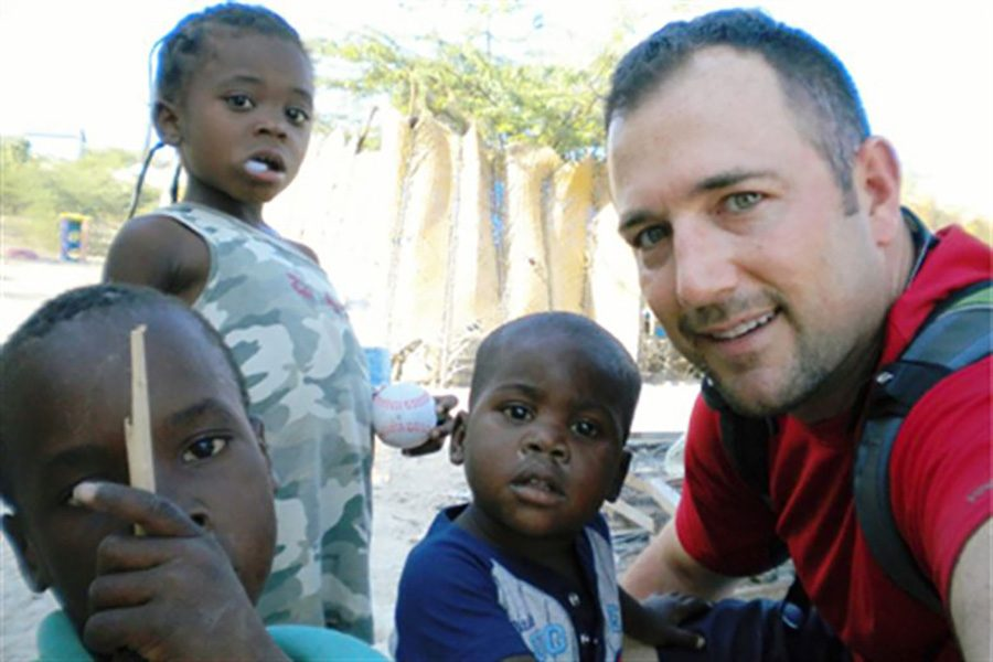 """This type of picture is commonly seen throughout social media to glorify the acts of these """"selfless"""" and """"helpful"""" white saviors. This takes away from the actual point of what a mission trip should truly be: helping out these communities in ways that will genuinely benefit them and their serious problems instead of just create more turmoil and exploitation."""