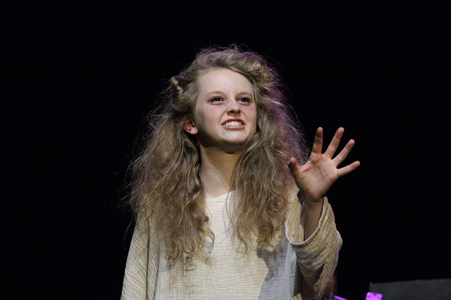 """Junior Sydney Turnier delivers an absolutely stunning performance as the title character of this year's one-act play. """"The Insanity of Mary Girard"""" is sure to do well at the one-act competition, just as its predecessor, """"These Shining Lives,"""" did last year."""
