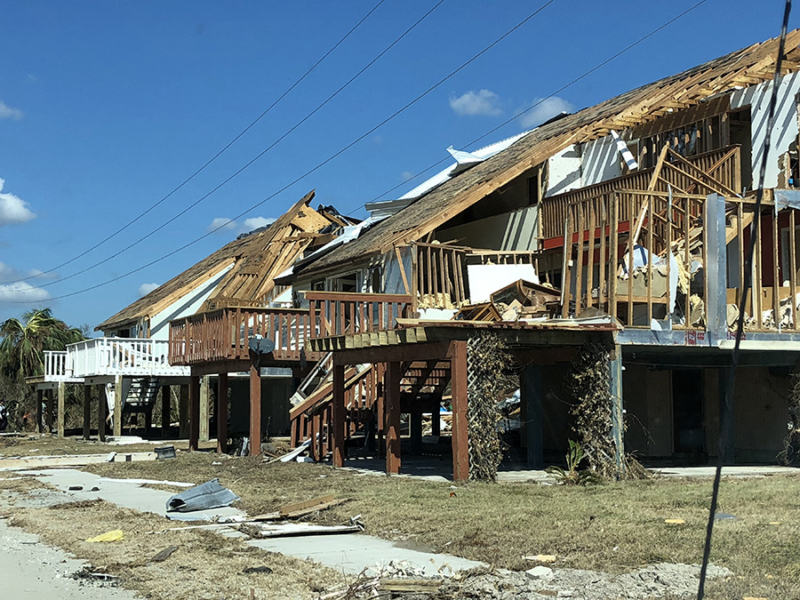 The aftermath of Michael becomes a reality for those residing in Mexico Beach.  On Oct. 10, the most powerful hurricane on record to hit the Gulf Coast decimated homes, businesses, schools, and the lives of many.