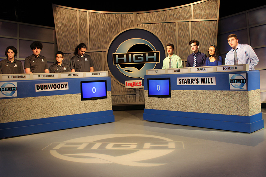 "To start off the season, Starr's Mill Academic team traveled to Atlanta to compete in the local game show ""High-Q."" The team then traveled to McIntosh on Wednesday to compete for the season placements."
