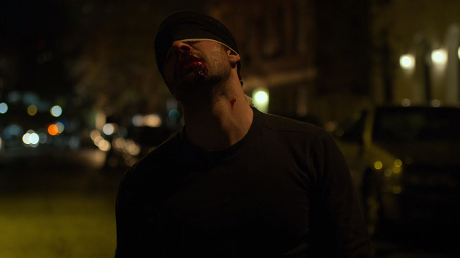 """Spiritually and physically damaged, Matt Murdock continues to fight crime as his vigilante alter ego in season three of """"Daredevil."""" This season was the most riveting yet, featuring an exciting new villain as well as the return of Wilson Fisk."""