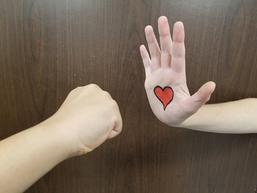When two students disagree, the best response is to not let their opinions divide them. Instead of facing a difference of opinion with hostility, we encourage people in high school and out of it to greet these differences with respect and kindness.