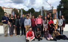 Panther excellence at Clemson Poetry Declamation
