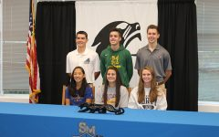 Student athletes commit to continue athletic careers at next level