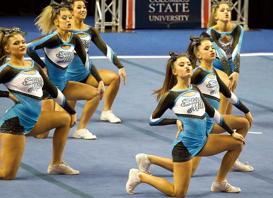 Cheer team rallies to finish 3rd at GHSA State Championships