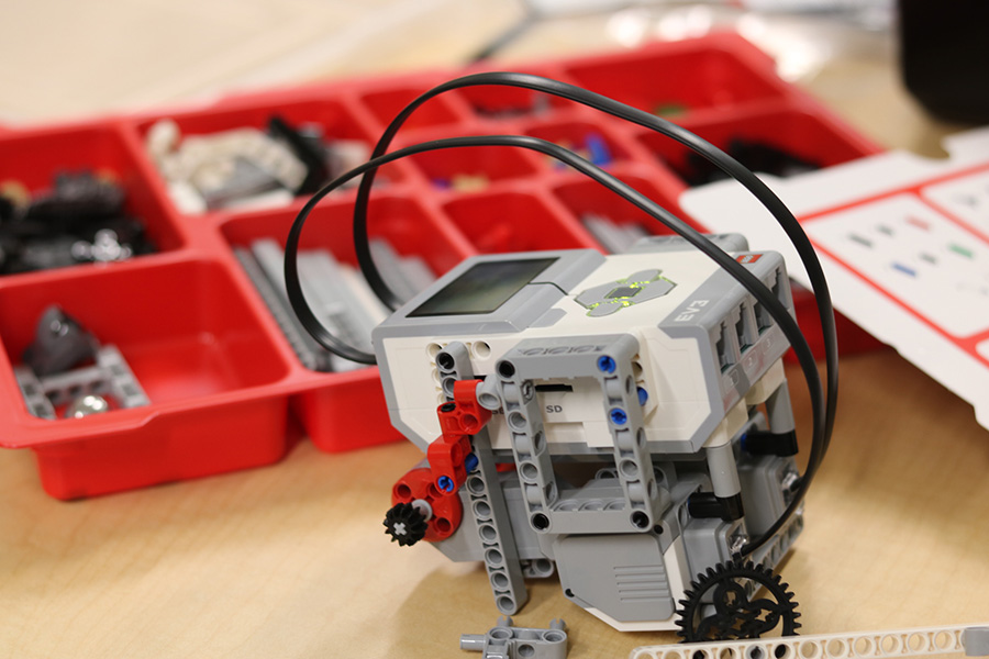 The Media Center will have a robotics makerspace team after the semester break. There will be an arena made in the media center for the robot battle that will take place during lunch sometime in February. An exact date for the competition has not been announced.