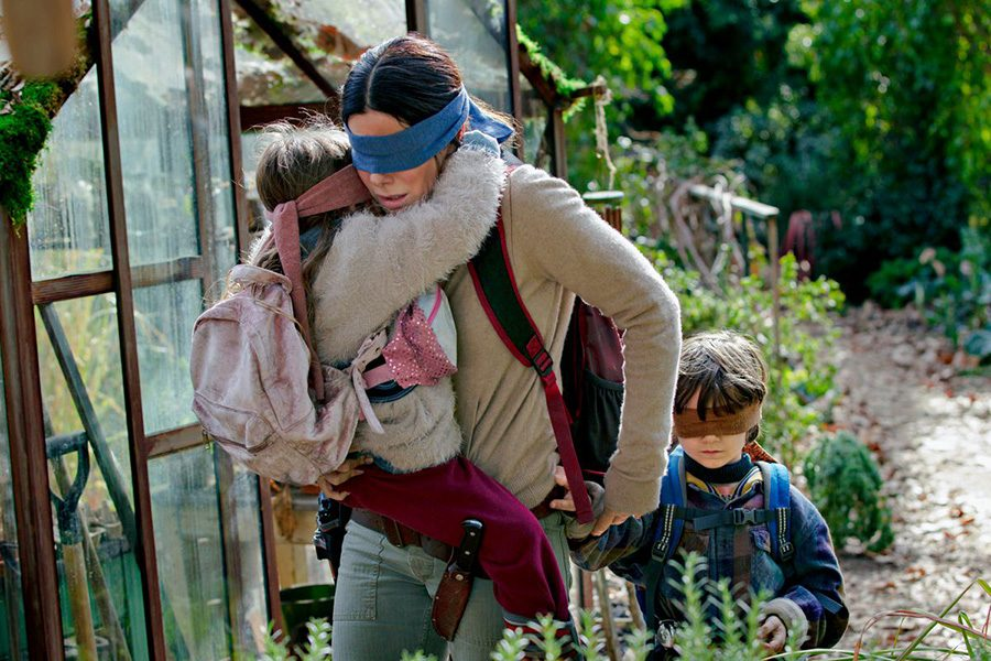 """The main characters of the Netflix original film """"Bird Box"""" run from the dangerous creatures that kill anyone who see them. This wildly popular movie didn't exceed the expectations its aggressive advertising campaign created."""