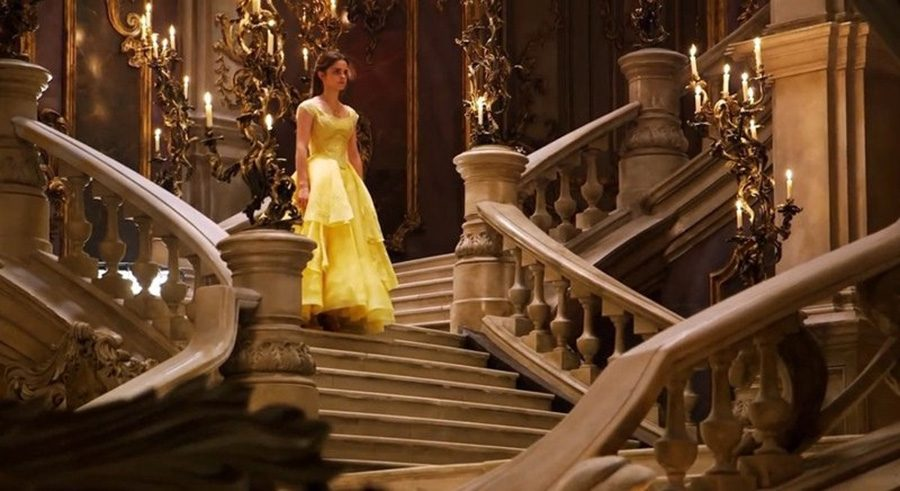 """The stunning live action set of """"Beauty and the Beast."""" Live action can be visually stunning when done right, but shouldn't be competing with animated films in terms of audience appreciation."""