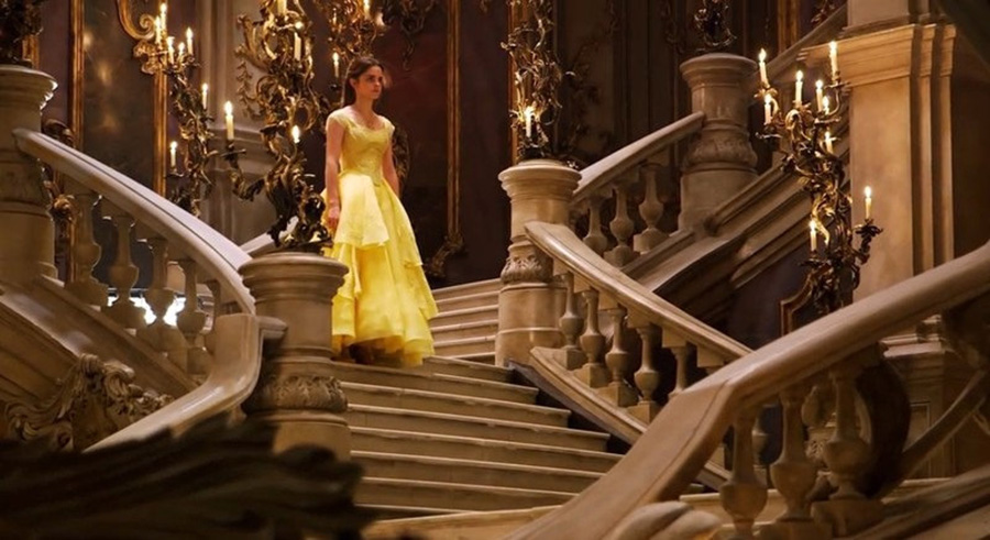 "The stunning live action set of ""Beauty and the Beast."" Live action can be visually stunning when done right, but shouldn't be competing with animated films in terms of audience appreciation."
