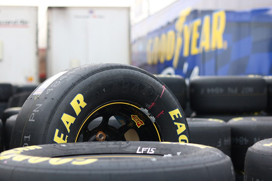 Tires play a large role in racing, especially at Atlanta Motor Speedway where an aged, abrasive racing surface wears down tires after only a few laps. This tire wear creates a need for more strategic use of pit stops.