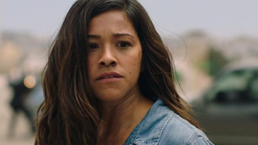 """Gloria Fuentes struggles to decide whether to go back to the middle of a shootout to save a man's life or to save her own life in the action film """"Miss Bala."""" This remake, released on Feb 3, disappointed audiences for not living up to the Spanish version that came out in 2011."""