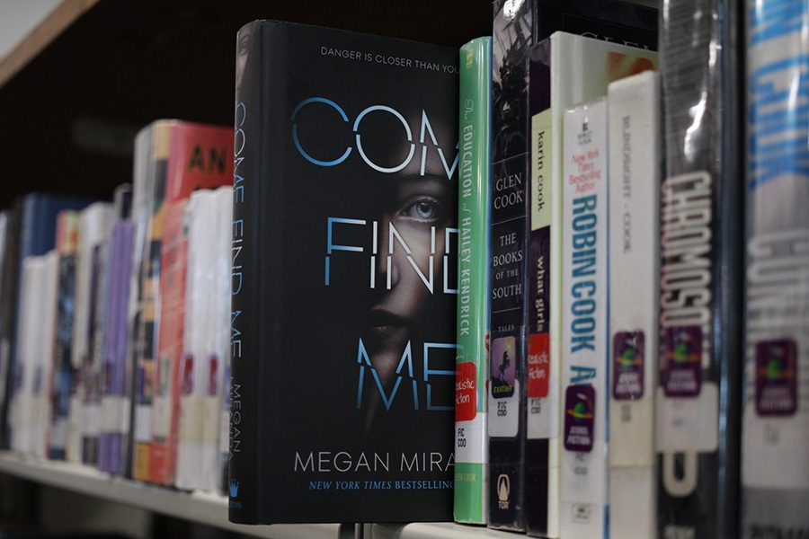 Released+on+Jan.+29%2C+%E2%80%9CCome+Find+Me%E2%80%9D+is+the+newest+novel+by+author+Megan+Miranda.+This+thriller+boasts+heaps+of+suspense%2C+loads+of+mystery+and+more+twists+than+a+Twizzler.+