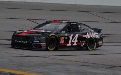 Clint Bowyer, driver of  No. 14 Haas Automation Ford Stewart-Haas Racing, paced the first practice with a speed of 180.152 mph and a time of 30.774 seconds. Teammate Aric Almirola placed second behind Bowyer with a speed of 179.998 mph and a time of 30.802 seconds.