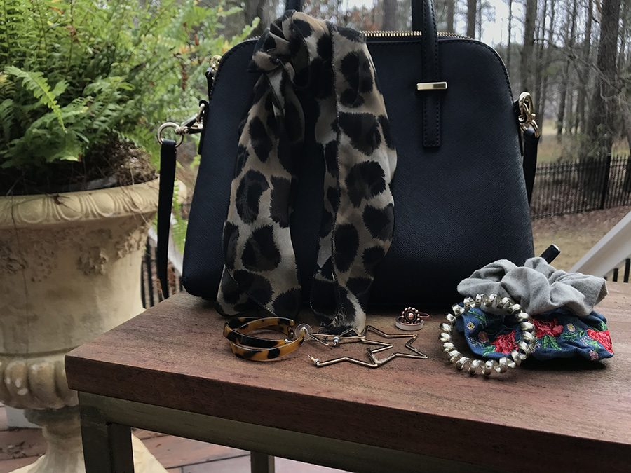 Though neutral clothing items have become the main form of style, accessories have made up for what outfits are lacking. A bold belt or patterned head scarf are trendy items that are commonly worn at Starr's Mill.