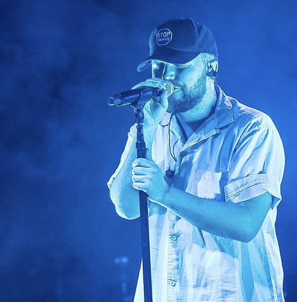 "Hip hop artist Quinn XCII performing at Irving Plaza. Just after Valentine's Day, Quinn XCII released his second album, a fantastic collection of music titled ""From Michigan With Love."""
