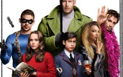 "The six Hargreeves siblings, raised to work together as a super-team, are far more ""super"" than ""team."" Their adventures in saving the world are available on Netflix, in ""The Umbrella Academy."""