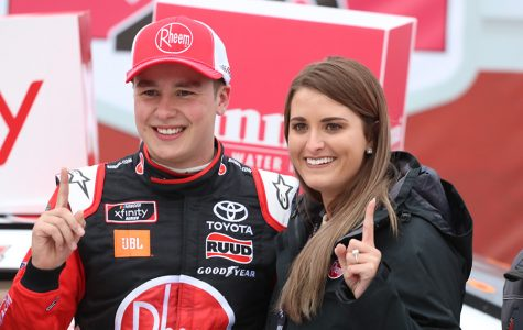 Christopher Bell, in the No. 20 Rheem Toyota for Joe Gibbs Racing, won the Rinnai 250 race at Atlanta Motor Speedway. Bell led for 142 of 163 laps en route to his first win of the 2019 season.