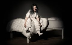 "Billie Eilish on the terrifying cover of her upcoming album, ""when we all fall asleep, where do we go?"" This is the first album rising pop star Eilish will be releasing, and if the new singles off of it are anything to judge it by, it's going to be creepy."