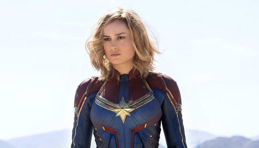 Carol+Danvers%2C+Air+Force+pilot+turned+superpowered+warrior%2C+saves+Earth+from+an+alien+invasion+in+Marvel+Studio%E2%80%99s+latest+box+office+success%2C+%E2%80%9CCaptain+Marvel.%E2%80%9D+This+addition+to+the+MCU+was+a+great+movie%2C+but+not+the+best+it+could+have+been+due+to+some+weak+writing+errors.