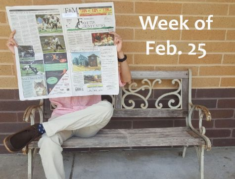 Slow school week meets huge headlines