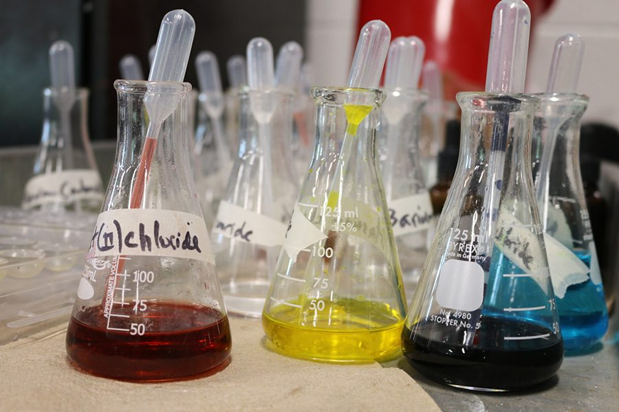Typically, Starr's Mill has a low number of students taking AP chemistry every year. While AP chemistry will not be taught next year, there will be a full-time chemistry teacher hired to fill this year's vacancy.