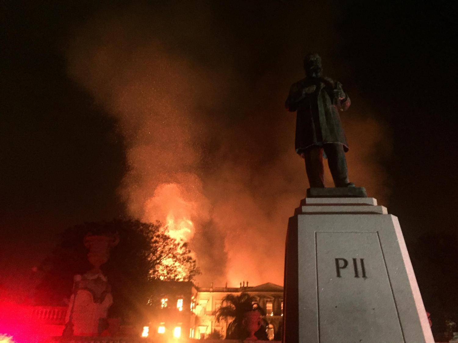 Brazil's National Museum in Rio de Janeiro and many historical artifacts being incinerated in the September fire. Why has there not been nearly the same amount of outrage and donations from celebrities and billionaires around the world compared with the recent Notre Dame tragedy?