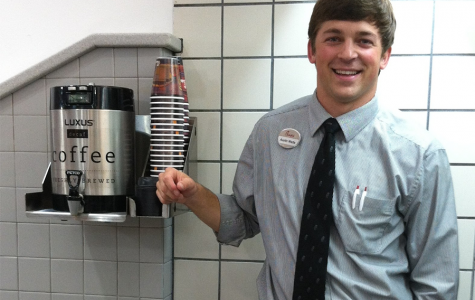 Starr's Mill grad Austin Watts during his time working at the Fayetteville Chick-fil-a Dwarf House. After initially just seeking a job as a dishwasher, Watts was employed as a manager for the organization before becoming an insurance agent.