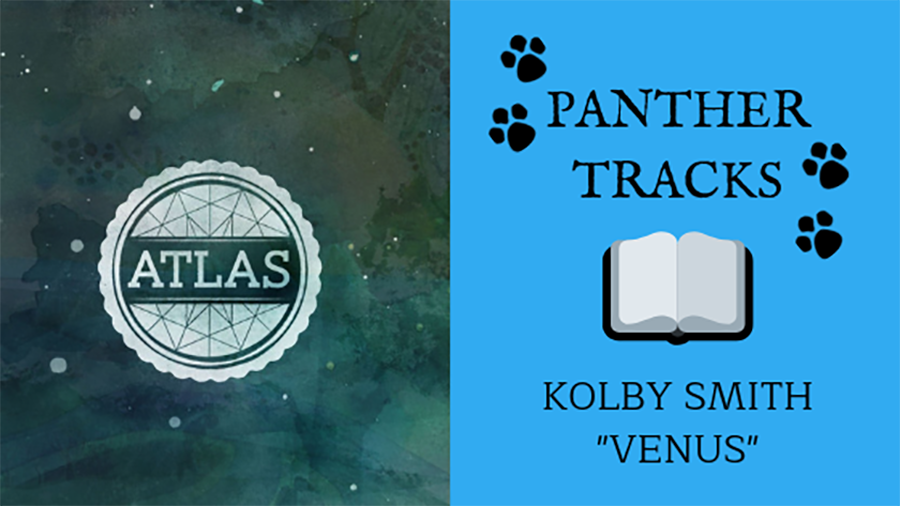 """Sophomore Kolby Smith recommends """"Venus"""" by Sleeping at Last. This relaxing track is from the solo artist's 2014 album """"Atlas: Year One,"""" which features a song for every planet in the solar system."""