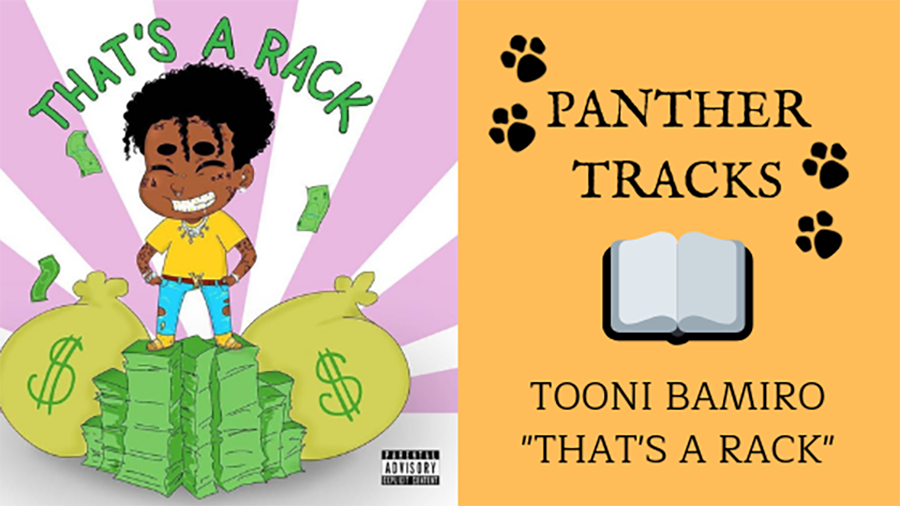 "Senior Tooni Bamiro recommends ""Thats A Rack"" by Lil Uzi Vert. This upbeat single is a pre-release for the rapper's album ""Eternal Atake."" The album does not have a release date."