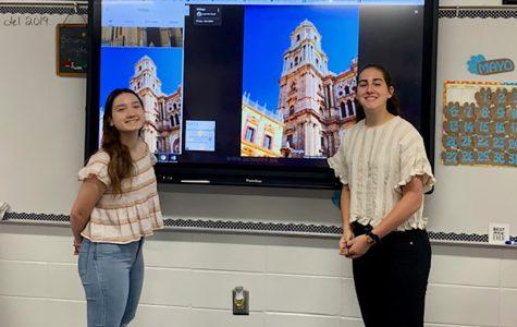 Interact Club students exchange experiences