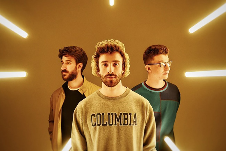 "Adam, Jack and Ryan of AJR pose for a photo to promote the tour of their third album. ""Neotheater"" is clever, insightful and fun, proving the growth of this up-and-coming band."