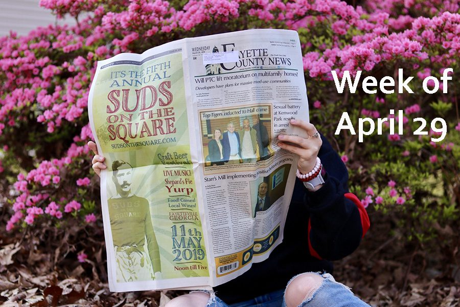 April showers bring May headlines