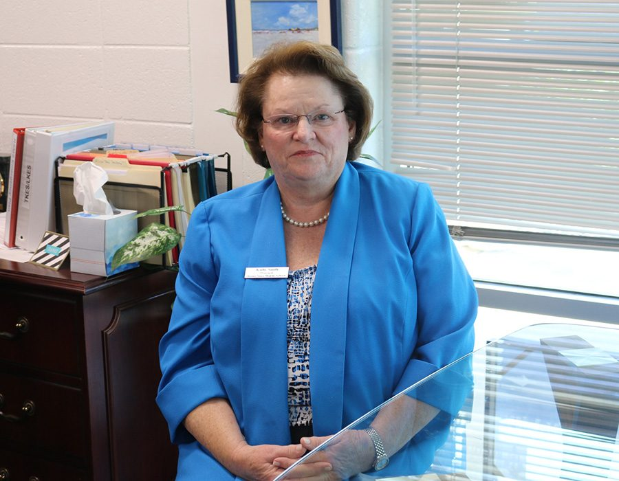 This year, Rising Starr hired a new principal, Kathy Smith. She wants to focus on helping the future students of Starr's Mill be their best selves academically and creatively.