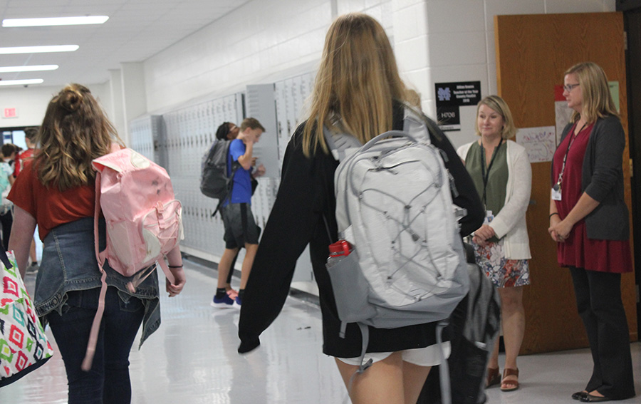 This year many changes will affect Starr's Mill including bookbags, detection dogs, new security doors, and a new grading system. Students around the school will have to learn to adapt to all the new changes while still meeting the tradition of excellence the school maintains.