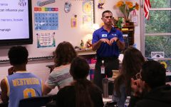 For the first Interact Club meeting of the school year, Steve Ivory came to present his ideas on how students can succeed in their futures. Ivory is an engineer quality director at Eaton and has worked in the business field for over 25 years.