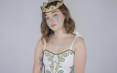 """mxmtoon on the cover of her song """"prom dress,"""" a new single off her upcoming album, """"the masquerade."""" This rising young artist continues to change the way music is made by producing meaningful and playful narrative songs."""