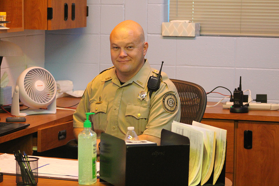 Student Resource Officer Zane Taylor joins Starr's Mill High School staff in continuation of his ten-year law enforcement career.