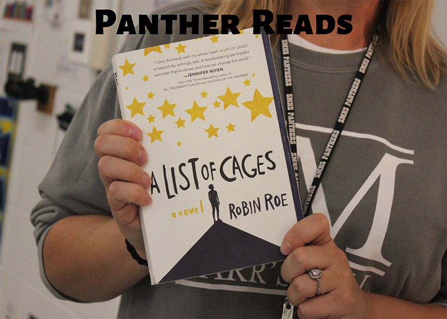 "In this segment of ""Panther Reads,"" Starr's Mill English teacher Dr. Bonnie Stanford shares the heart-wrenching young adult novel ""A List of Cages."" This book covers heavy topics such as mental health and abusive families."