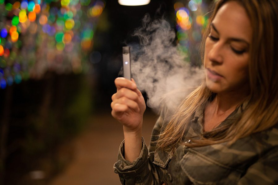 Millions+of+teens+nationwide+are+suffering+nicotine+addiction+due+to+vaping+products+and+e-cigarettes.+They+need+to+realize+how+harmful+these+products+are+to+their+bodies+and+how+they+could+experience+detrimental+--+and+even+lethal+--+side+effects+in+the+near+future.+