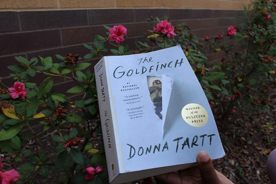 %E2%80%9CThe+Goldfinch%2C%E2%80%9D+by+Donna+Tartt%2C+is+a+riveting+literary+tale+about+a+boy%27s+life+journey+after+his+mother%27s+death.+The+recent+film+release+disappointed+many+of+those+who+have+read+the+book+due+to+its+plot+holes+and+inconsistencies%2C+though+it+seemed+to+be+loved+by+those+who+did+not.+