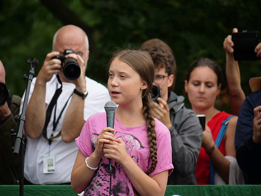 Greta Thunberg is a perfect example of how impactful young people's voices can be if they speak up for what they believe in and show that they truly want to make a change in the world, regardless of age. The rest of the youth needs to realize the power they possess and that they already have everything they need to begin changing the world for the better.