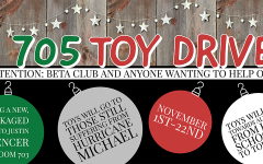 705 toy drive